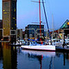 Panorama of Baltimore's Inner Harbor