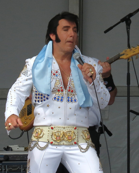 Jesse Garron's Tribute to Elvis (Performed at Sunfest 2012 in Ocean City, Maryland)