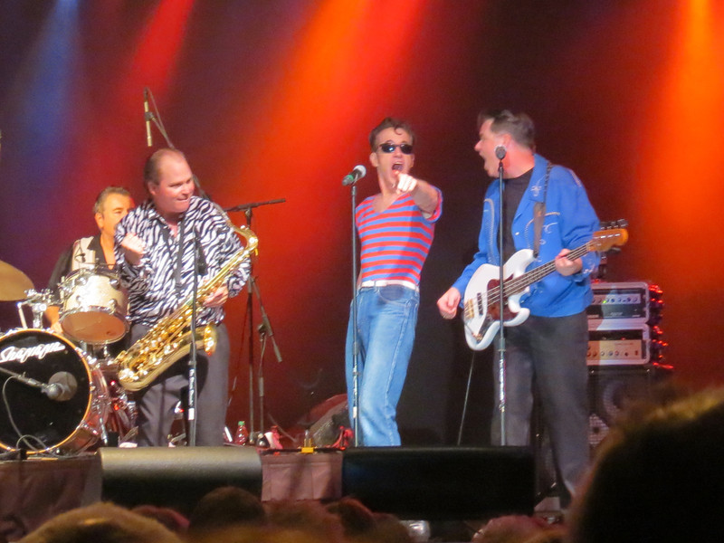 Sha Na Na performs at Sunfest 2012 in Ocean City, Maryland