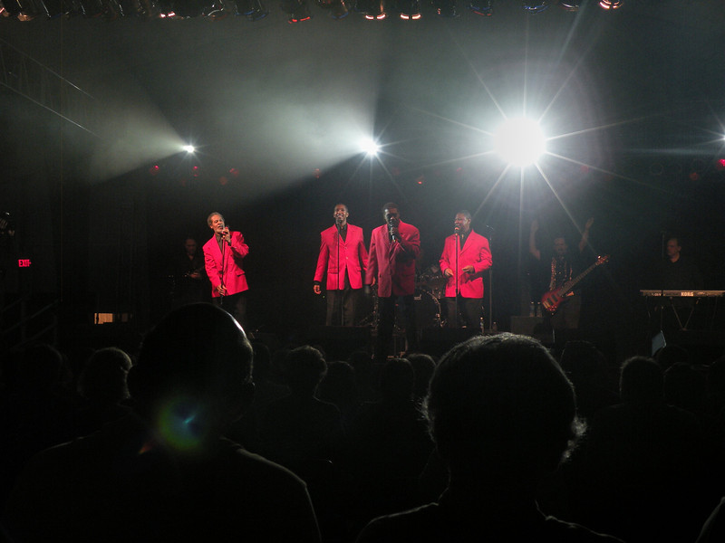 The Coasters perform at Sunfest in Ocean City, Maryland. 2011