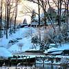 Wintery River Overlook