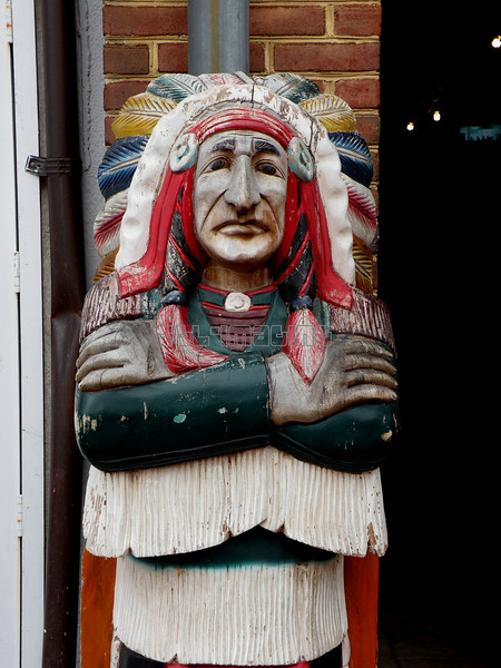 Cigar store indian, Annapolis, Maryland