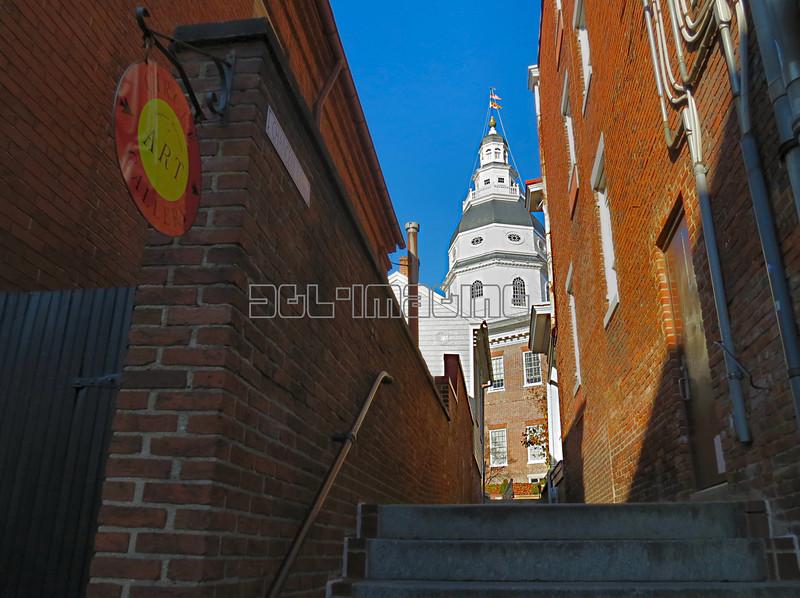 Annapolis, Maryland street scene