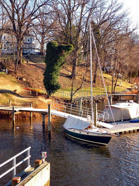 Weems Creek Sailboat