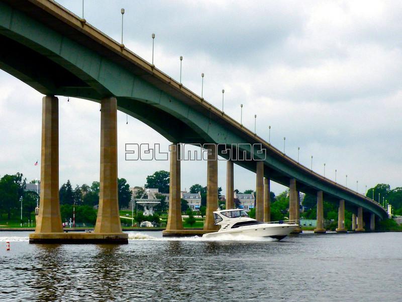 Under The Severn River Bridge
