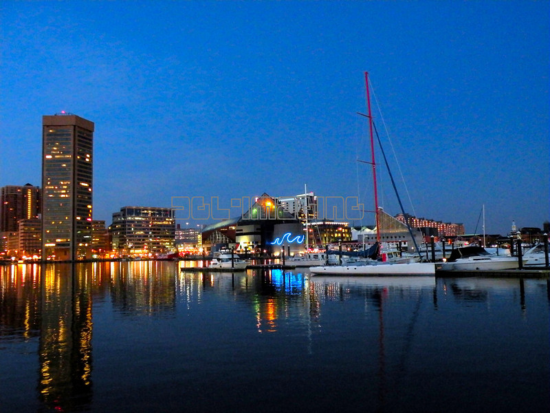 Baltimore Inner Harbor, March 2010