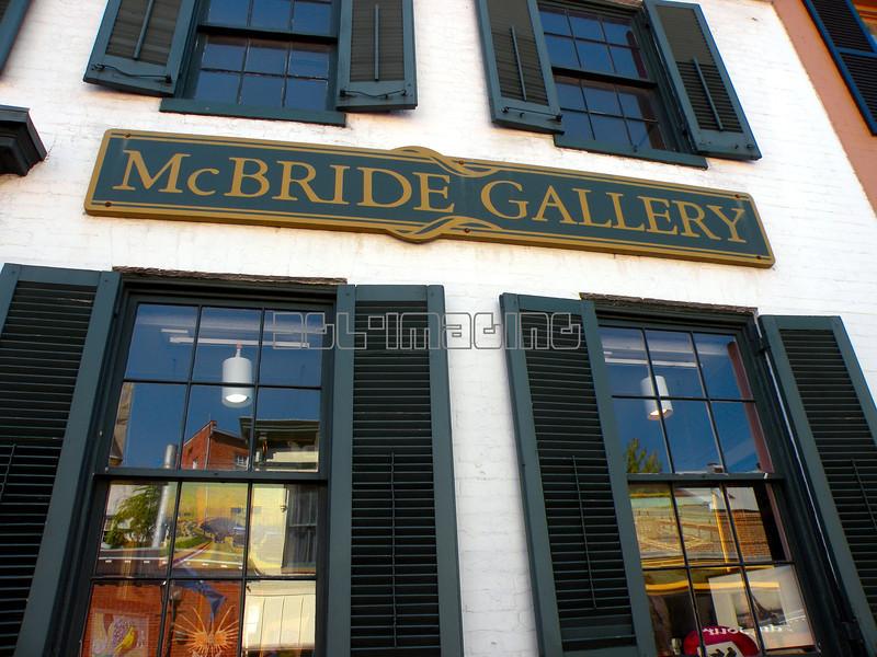 McBride Gallery, Annapolis, Maryland.