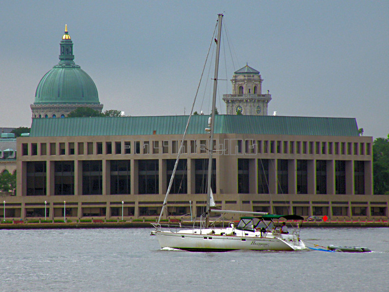 Harmony Cruises Past The U.S. Naval Academy