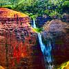 Weimea Waterfall Zoom