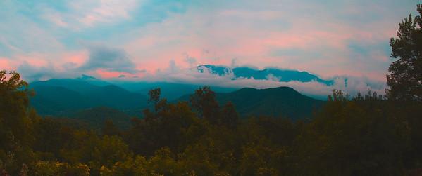 Black Mountains Panorama 2
