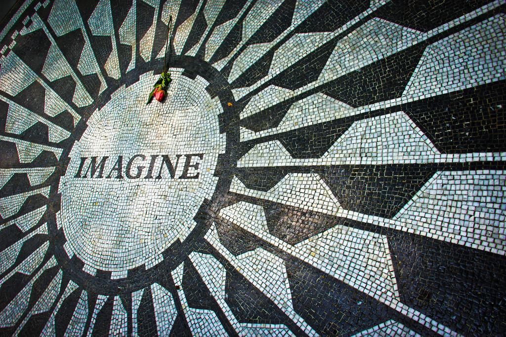 John Lennon's Imagine Memorial, Central Park, New York City