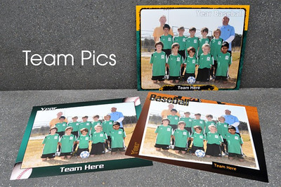 The best part of any season is spending time with the team. Feature this important group together with Scott Photography's Team Pics.