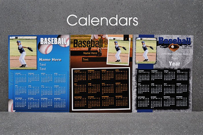 Winning seasons are remembered year after year with our Sports & Events Calendars. Available in 8x10, they can be customized with our variety of templates, color options, and text.