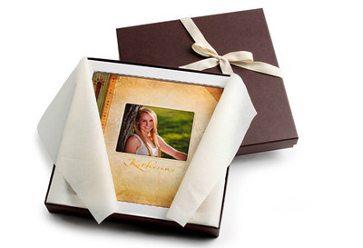DELIVERY WITH CLASS  All of Scott Photography Prints are sealed in clear poly bags, Press Printed Cards are banded, and Press Printed Books and Albums have a cardboard insert or riser to ensure it fits snug inside the box.   All products are wrapped in cream tissue paper, placed in our rich chocolate brown boxes and finished with an eco-friendly natural cloth ribbon.