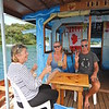 Floating Bar in Nieafu, Tonga 2019