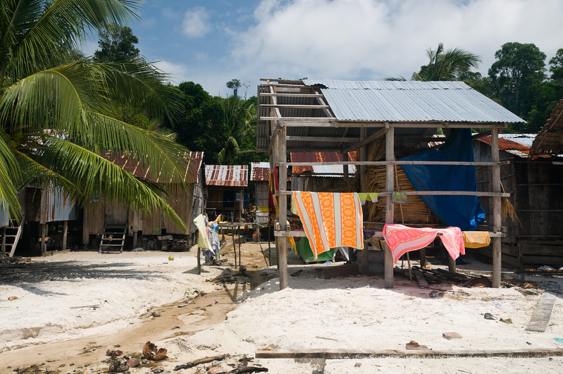 Koh Roung village is made up of roughly 170 people, most of whom live in homes without electricity or  running water. Still, the Dive Shop's presence has brought tourists to the area, sanitary water to the village, and quality paying jobs.
