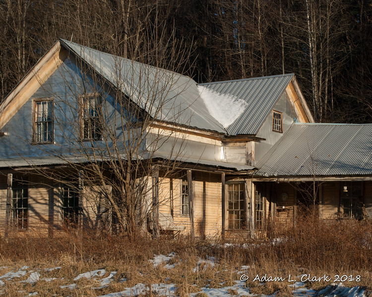 Abandoned House<br /> Alstead, NH