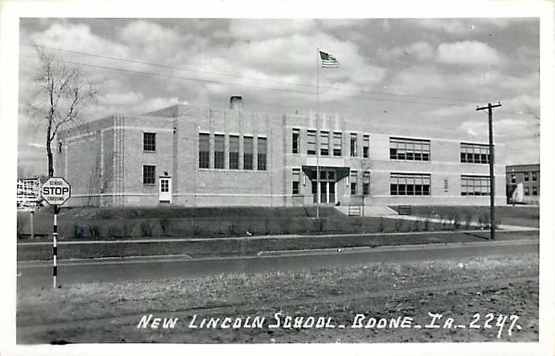 New Lincoln School - Boone Iowa - 2244 - Original