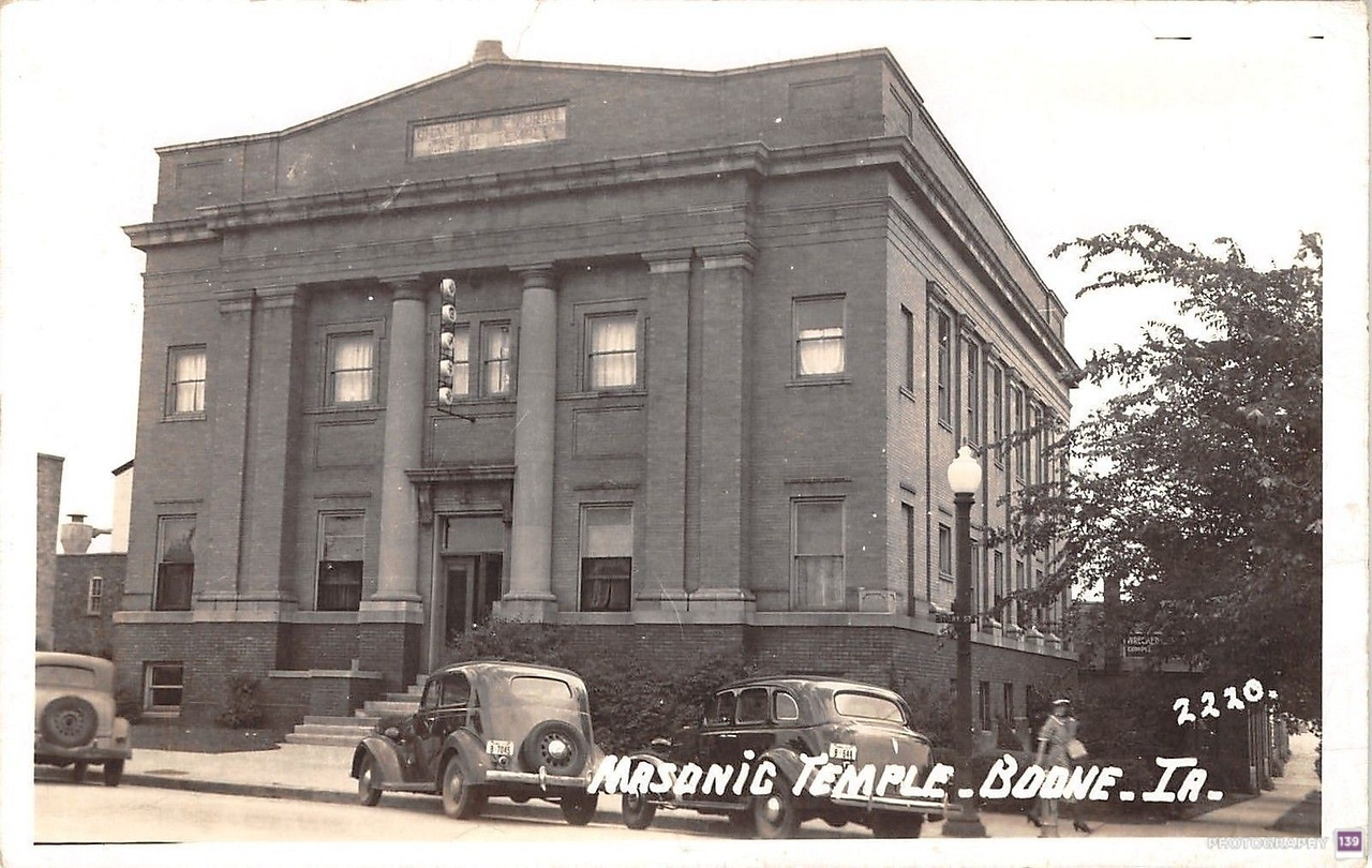 Masonic Temple, Boone, IA 2220 - Original