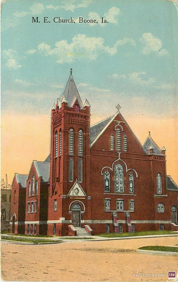 M. E. Church, Boone, Ia. - Original