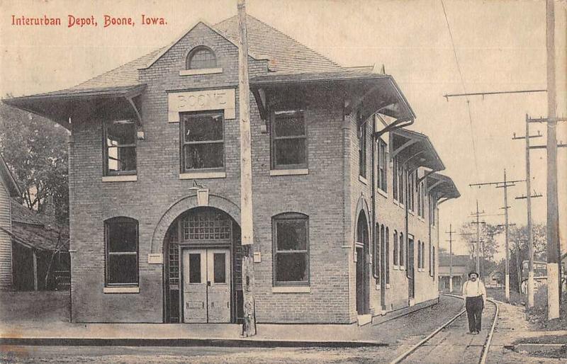 Interurban Depot, Boone, Iowa - Original