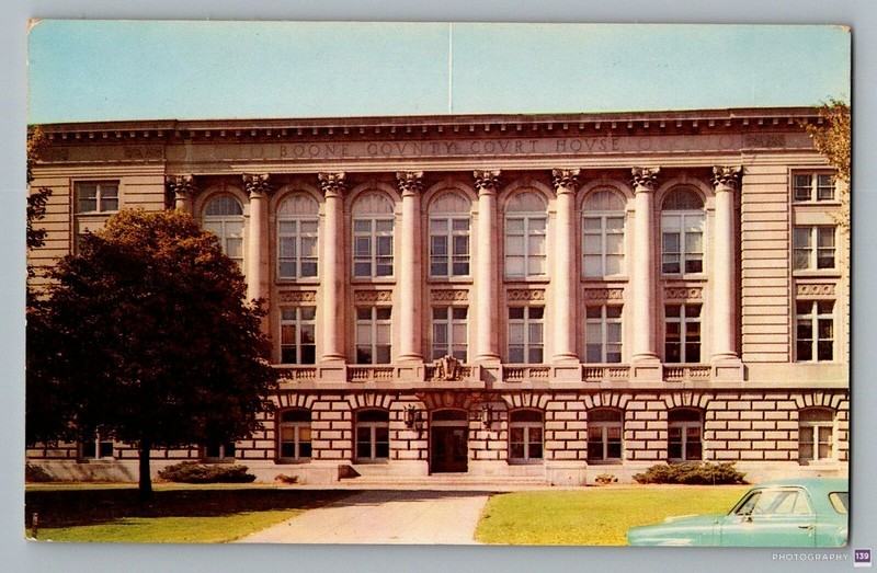 Boone County Courthouse - Original