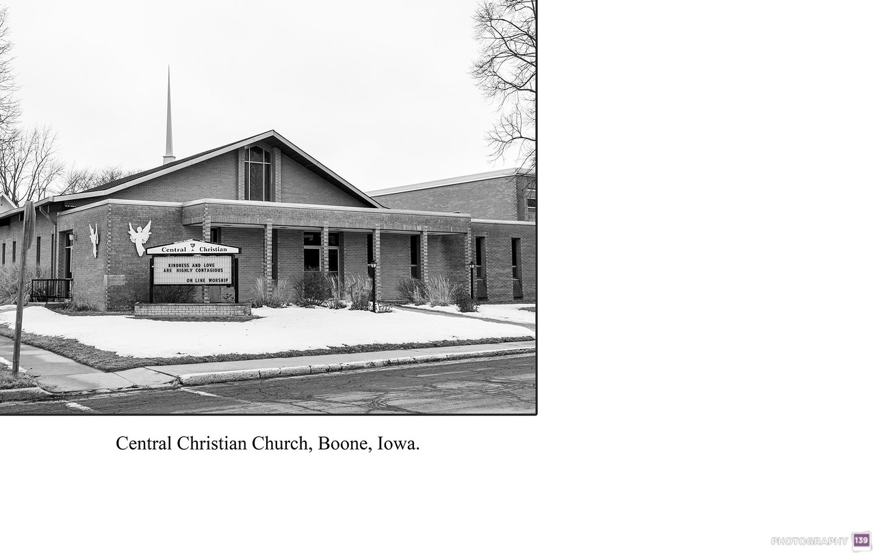 Central Christian Church, Boone, Iowa - Redux