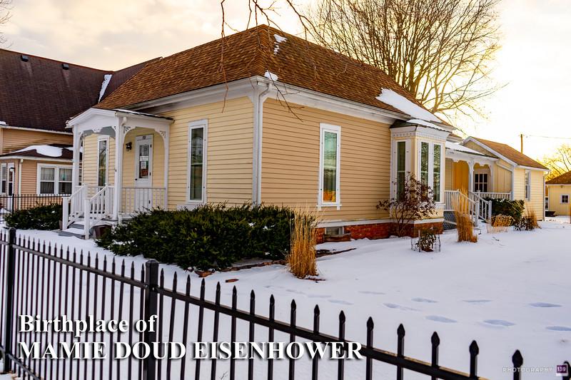 Birthplace of Mamie Doud Eisenhower - Redux