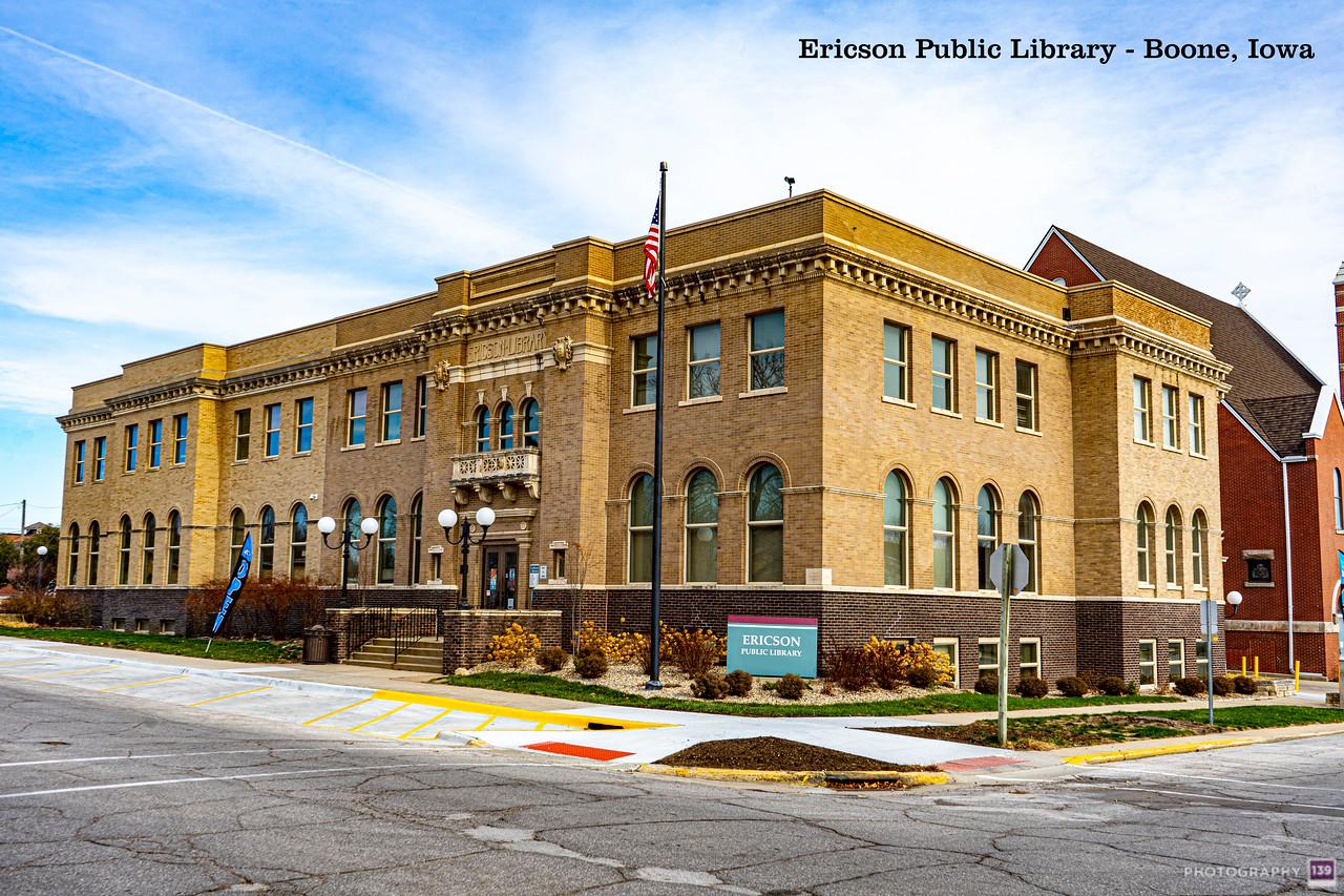 Ericson Public Library - Modern Interpretation
