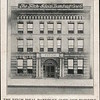 The Fitch Ideal Dandruff Cure Co's Building Postcard Original