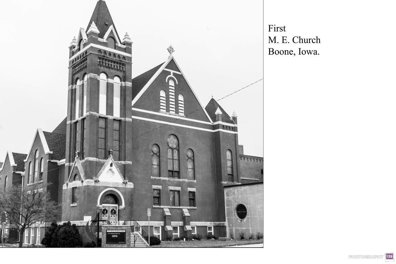 First M. E. Church Boone, Iowa - Redux