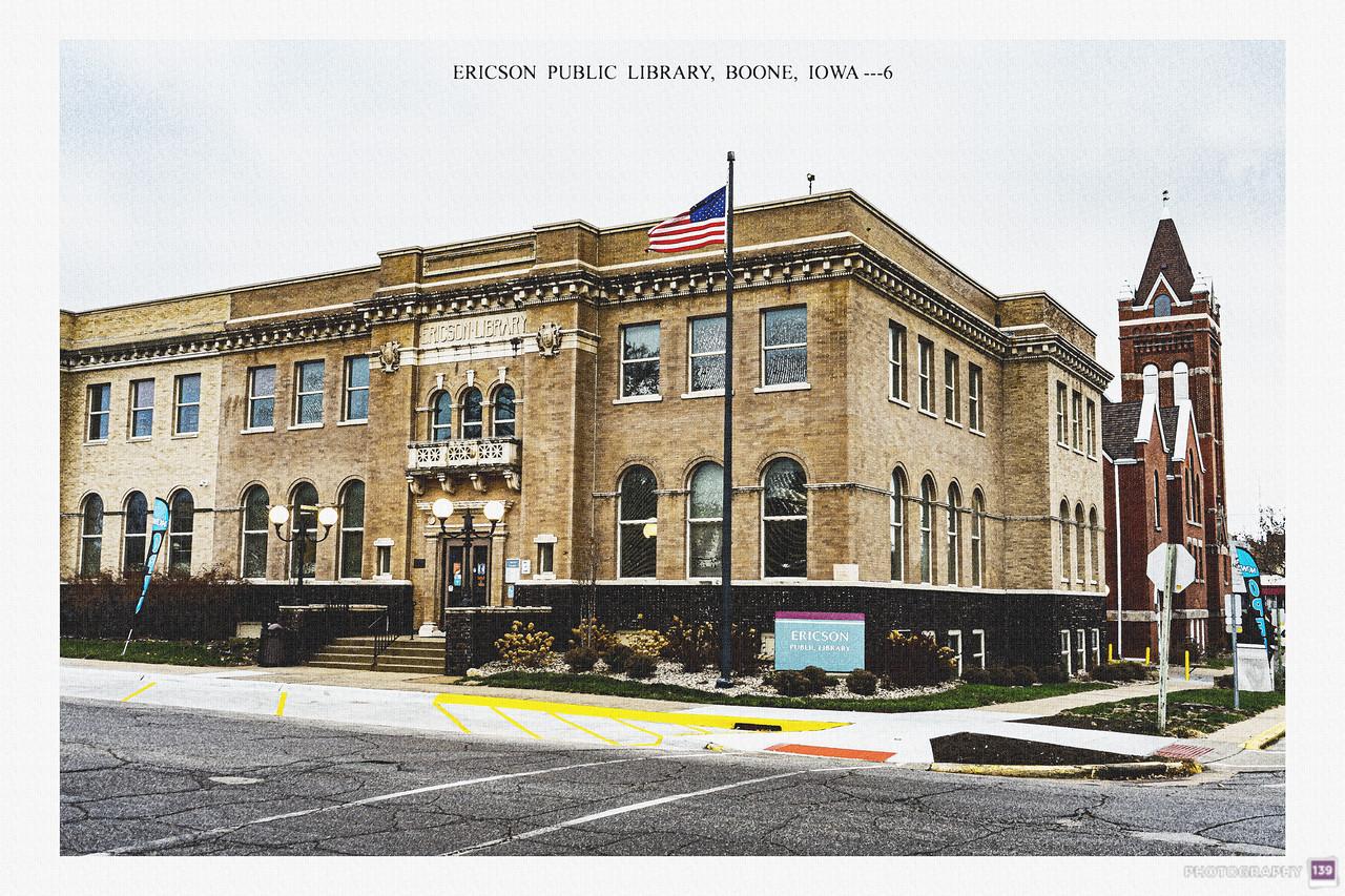 Ericson Public Library, Boone, Iowa -6 - Redux