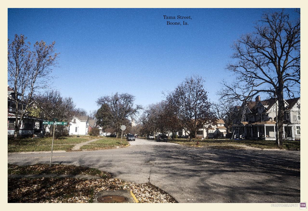Tama Street, Boone, Ia Redux