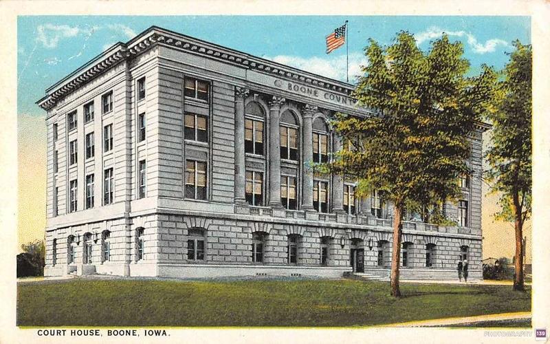 Court House, Boone, Iowa - Original