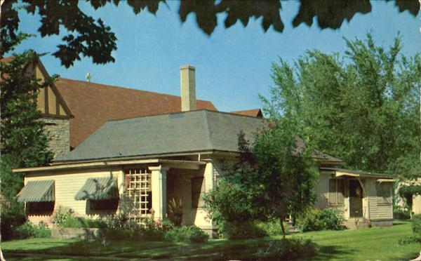 Mamie Doud Eisenhower Birthplace Photo Postcard - Original
