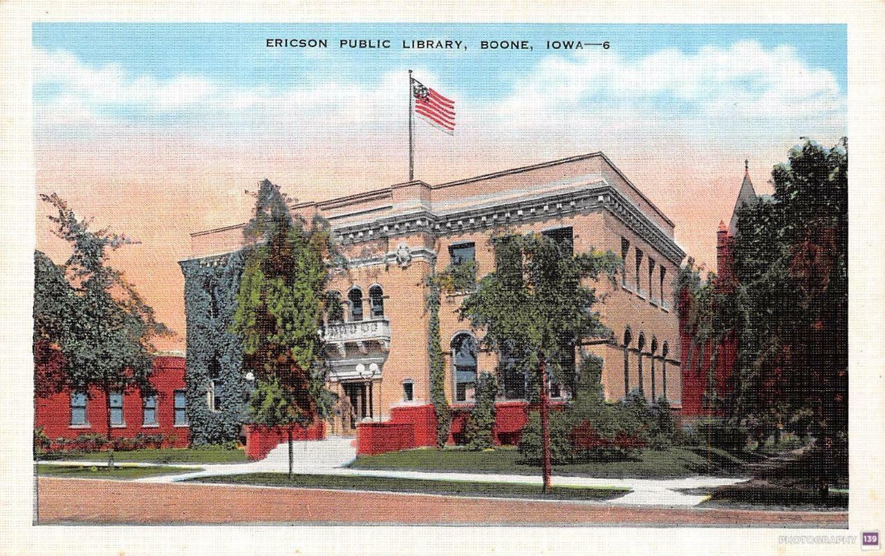 Ericson Public Library, Boone, Iowa -6 - Original