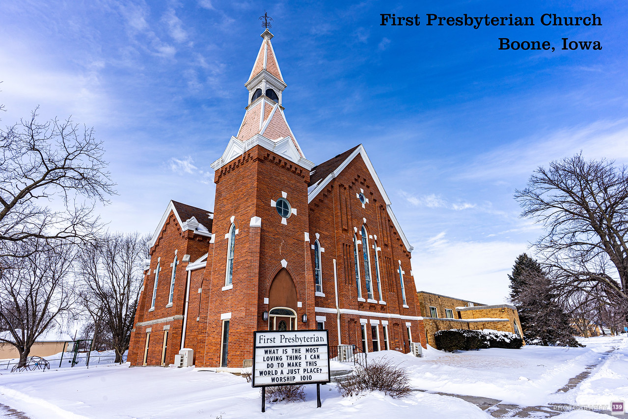 First Presbyterian Church - Boone, Iowa - Modern Interpretation