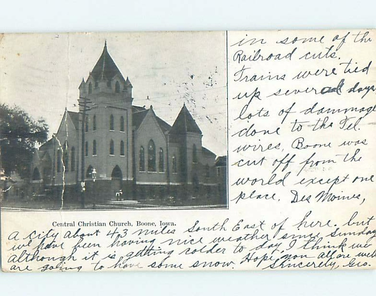 Central Christian Church, Boone, Iowa - Original