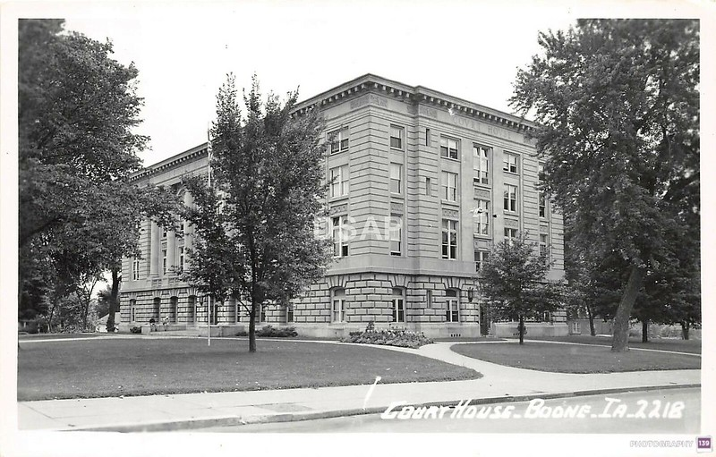 Court House. Boone, IA - 2218 - Original