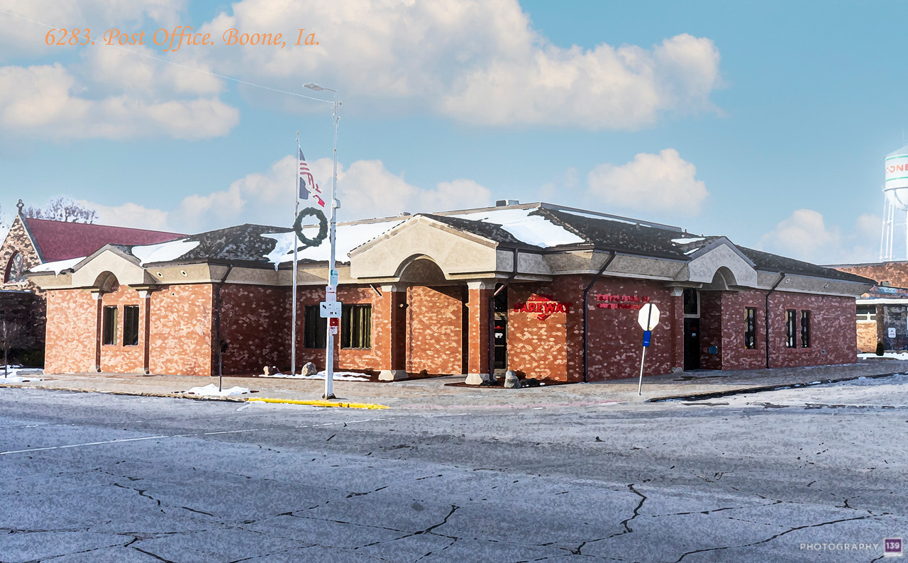 6283 Post Office, Boone, Ia - Redux