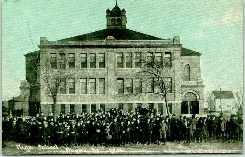 Page School - Boone Ia - Original