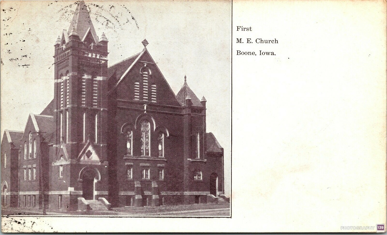 First M. E. Church Boone, Iowa - Original