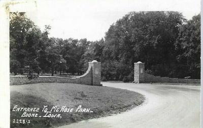 Entrance to McHose Park