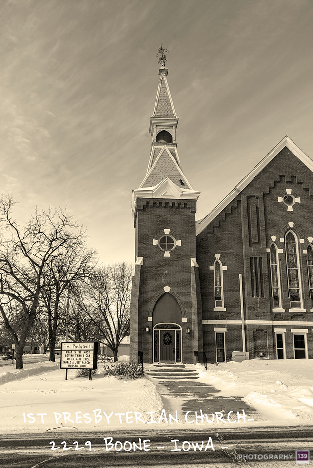 1st Presbyterian Church2229 - Boone Iowa - Redux