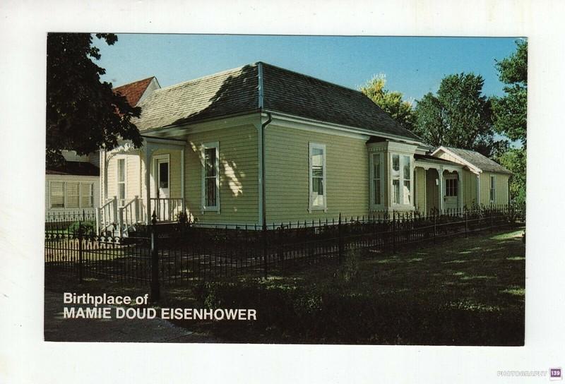 Birthplace of Mamie Doud Eisenhower - Original
