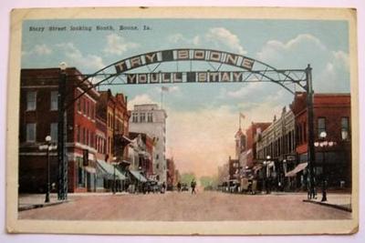 Story Street lookin South, Boone, Ia - Original