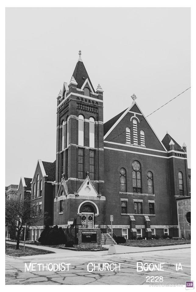 Methodist Church - Boone, IA - 2228 - Redux