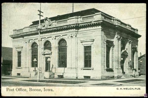 Post Office, Boone, Iowa - Original