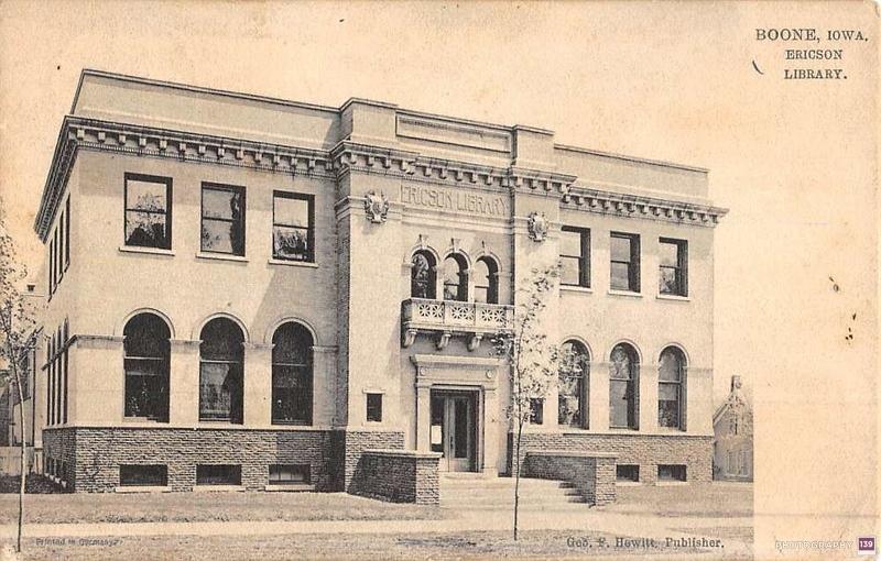 Boone, Iowa. Ericson Library. - Original