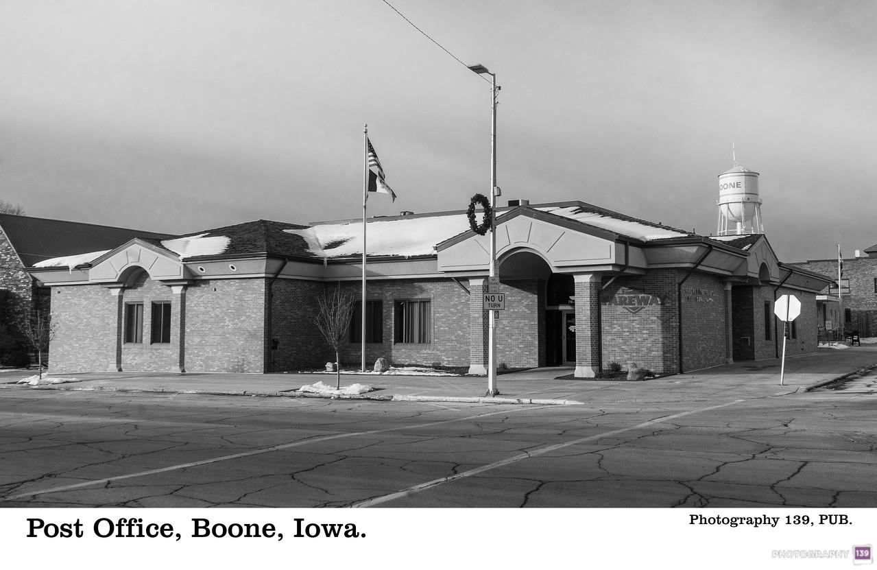 Post Office, Boone, Iowa - Redux